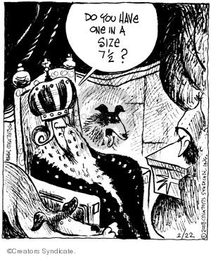Comic Strip John Deering  Strange Brew 2008-02-22 strange