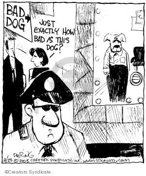 Cartoonist John Deering  Strange Brew 2008-02-23 strange