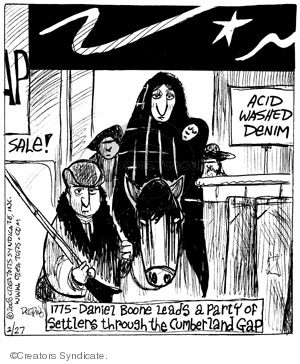 Comic Strip John Deering  Strange Brew 2008-02-27 history