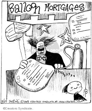 Comic Strip John Deering  Strange Brew 2008-02-29 clown