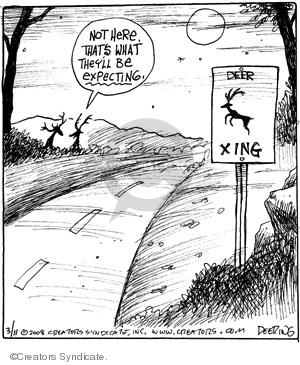 Cartoonist John Deering  Strange Brew 2008-03-11 John