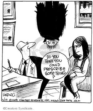 Comic Strip John Deering  Strange Brew 2008-03-14 prescribe