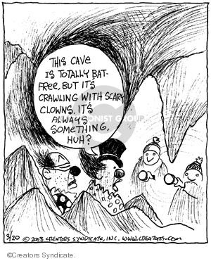 Comic Strip John Deering  Strange Brew 2008-03-20 crawl