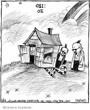 Comic Strip John Deering  Strange Brew 2008-03-29 television program