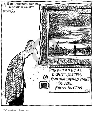 Comic Strip John Deering  Strange Brew 2008-04-07 museum