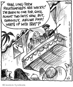 Comic Strip John Deering  Strange Brew 2008-04-09 food