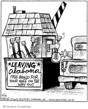 Comic Strip John Deering  Strange Brew 2008-04-21 musical