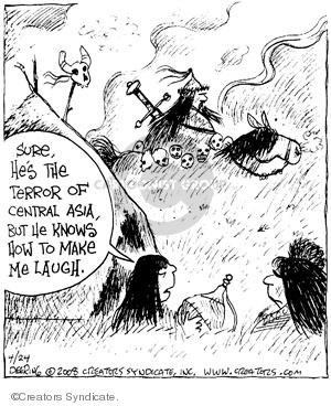 Comic Strip John Deering  Strange Brew 2008-04-24 history