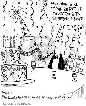 Comic Strip John Deering  Strange Brew 2008-05-12 surprise
