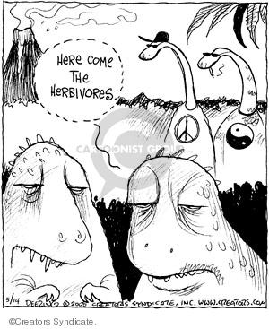 Comic Strip John Deering  Strange Brew 2008-05-14 symbol