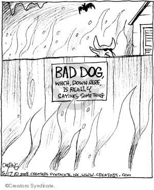 Comic Strip John Deering  Strange Brew 2008-05-17 animal