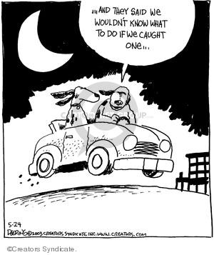 Comic Strip John Deering  Strange Brew 2008-05-24 catch