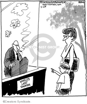 Comic Strip John Deering  Strange Brew 2008-05-29 habit