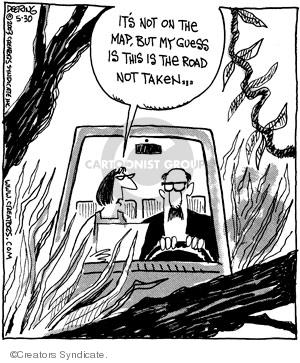 Comic Strip John Deering  Strange Brew 2008-05-30 road