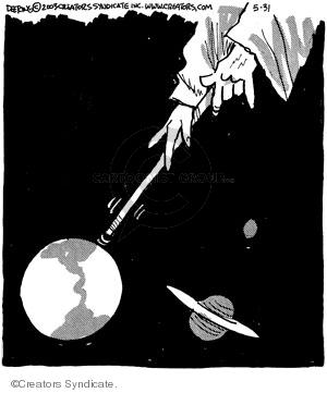 Comic Strip John Deering  Strange Brew 2008-05-31 almighty