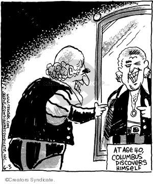 Comic Strip John Deering  Strange Brew 2008-06-03 forty