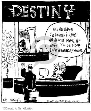 Comic Strip John Deering  Strange Brew 2008-06-09 administrative