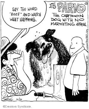 Comic Strip John Deering  Strange Brew 2008-06-10 animal
