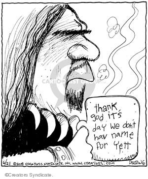 Comic Strip John Deering  Strange Brew 2008-06-21 strange