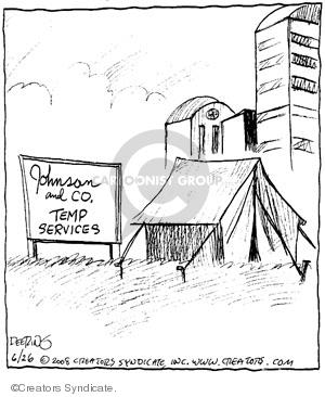 Comic Strip John Deering  Strange Brew 2008-06-26 job search