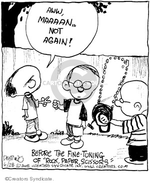 Comic Strip John Deering  Strange Brew 2008-06-28 strange