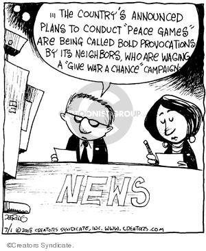 Comic Strip John Deering  Strange Brew 2008-07-01 Olympics