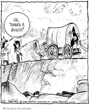 Comic Strip John Deering  Strange Brew 2008-07-02 strange