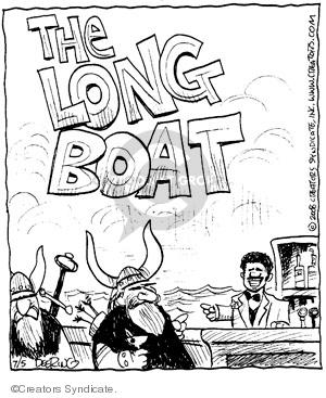 Comic Strip John Deering  Strange Brew 2008-07-05 strange