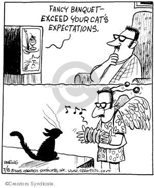 Comic Strip John Deering  Strange Brew 2008-07-08 cat owner