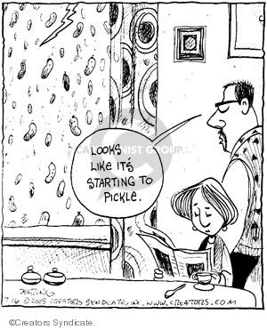 Comic Strip John Deering  Strange Brew 2008-07-16 rain