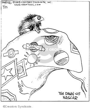 Comic Strip John Deering  Strange Brew 2008-07-25 history