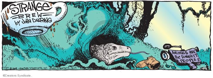 Comic Strip John Deering  Strange Brew 2008-07-27 television program