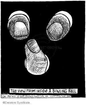 Cartoonist John Deering  Strange Brew 2008-07-29 hand