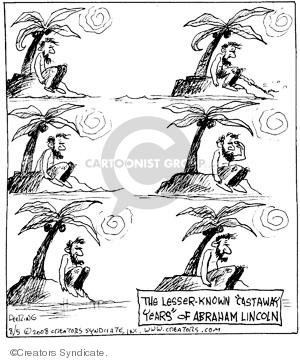 Comic Strip John Deering  Strange Brew 2008-08-05 19th Century