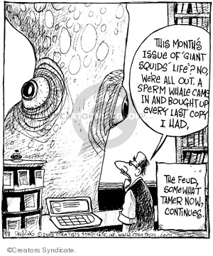Comic Strip John Deering  Strange Brew 2008-08-08 ocean