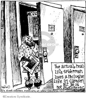 Comic Strip John Deering  Strange Brew 2008-08-14 super