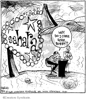 Comic Strip John Deering  Strange Brew 2008-08-15 goal