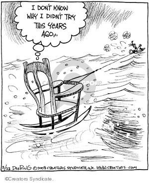 Comic Strip John Deering  Strange Brew 2008-08-22 didn't