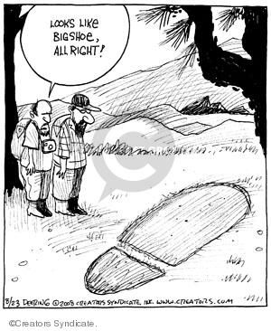 Comic Strip John Deering  Strange Brew 2008-08-23 myth