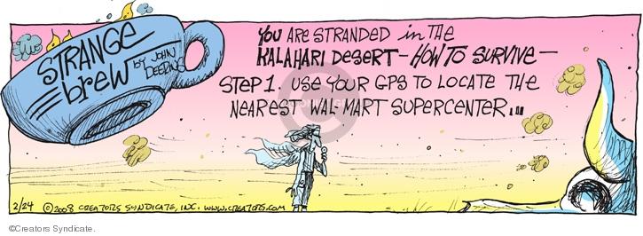 Cartoonist John Deering  Strange Brew 2008-02-24 John