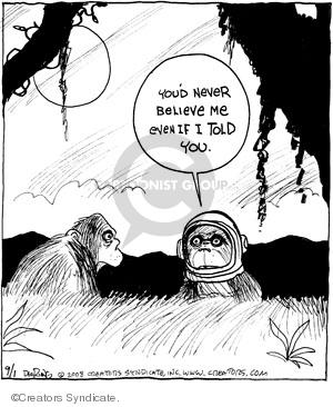 Comic Strip John Deering  Strange Brew 2008-09-01 animal