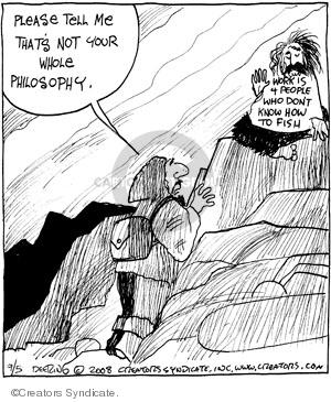 Comic Strip John Deering  Strange Brew 2008-09-05 brew