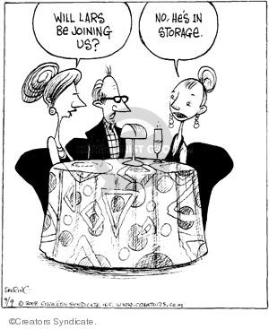 Cartoonist John Deering  Strange Brew 2008-09-09 relationship