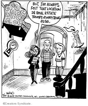 Comic Strip John Deering  Strange Brew 2008-09-20 strange