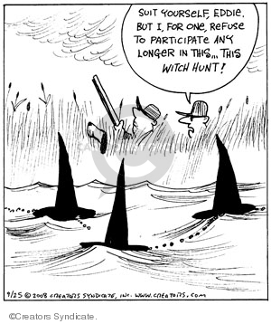 Comic Strip John Deering  Strange Brew 2008-09-25 strange