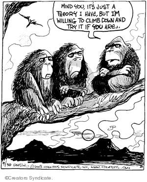 Comic Strip John Deering  Strange Brew 2008-09-30 science