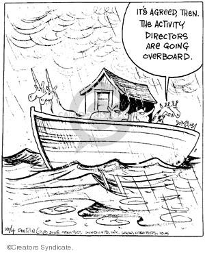 Comic Strip John Deering  Strange Brew 2008-10-04 night