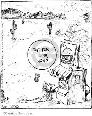 Comic Strip John Deering  Strange Brew 2008-10-10 out