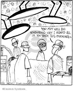 Comic Strip John Deering  Strange Brew 2008-10-11 doctor