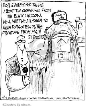 Cartoonist John Deering  Strange Brew 2008-10-15 classics